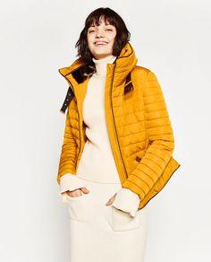 23fc5dda816 ZARA - WOMAN - SHORT ANORAK Mustard Puffer Jacket