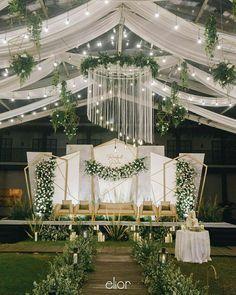 Indoor Wedding Decorations, Outdoor Wedding Backdrops, Wedding Backdrop Design, Wedding Stage Design, Backdrop Decorations, Wedding Stage Backdrop, Wedding Background, Plant Table, Profile