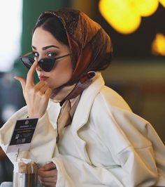 Hijab Outfit, Hijab Dress, Hijab Wear, Head Scarf Styles, Hair Styles, Hijab Mode, Mode Turban, Turban Hijab, Hijab Stile