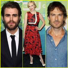 Paul Wesley Sports Sexy Beard at CW Upfronts 2016