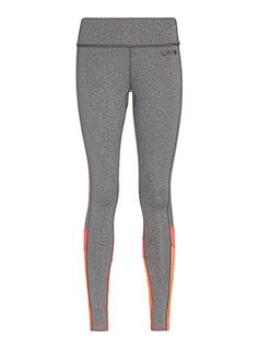 Exclusively from I.FIV5     From our collection of matching sportswear   Trendy training leggings with pop accent seaming on the legs   Light and breathable, silky stretch microfibre   Bandeau waist with hidden elastic for optimal support   Ergonomic construction with flat seams   Small slit pocket hidden at the waist