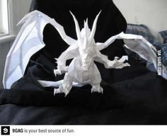 Yes this is a origami dragon!!!