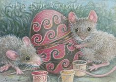 PAQUES-LB-EGG PAINTING MICE