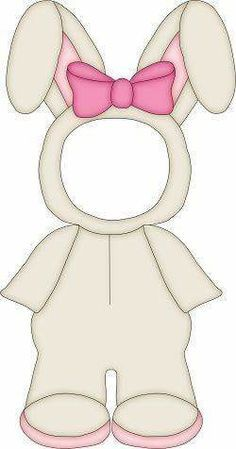 Dress Me Up Bear Lots of other costumes at this site. Easter Activities, Easter Crafts For Kids, Happy Easter, Easter Bunny, Diy And Crafts, Paper Crafts, Paper Dolls Printable, Diy Ostern, Diy Crafts