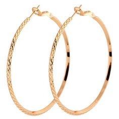 Prezzi e Sconti: #Pair of alloy snake shape earrings Instock  ad Euro 2.29 in #Golden #Fashion jewelry earrings