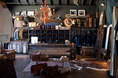 Imogen + Willie - Store Design by Chad Davis, via Behance