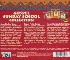 Gospel Sunday School Collection Back Cover