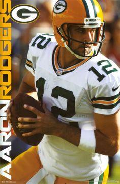 Aaron Rodgers - Green Bay Packers Print from AllPosters.com
