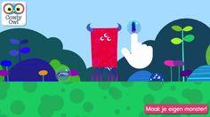 Monster Mingle - Maak je eigen monster! van Cowly Owl Ltd