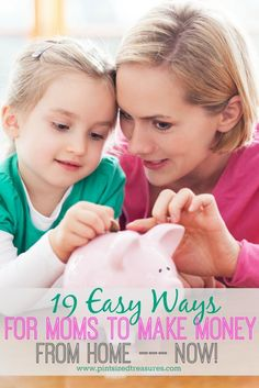 Are you a mom who needs to make money from home? Here are 19 great options for you that work -- no selling required!