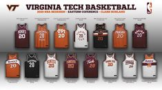 Virginia Tech Basketball, Eastern Conference, March Madness, Fun Projects, Nba, Touch, Twitter, Design