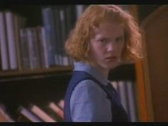 Don't Look Under the Bed (1994).  A teen visits the public library and speaks to her invisible friend Larry Houdini.  The librarians react accordingly.