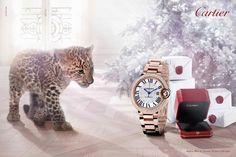 Cartier Winter Tale Campaign by Coppi Barbieri - 1 l #christmas2013 #adcampaign #fashionphotography #wintertale #cartier #jewelry #panther #cub #coppibarbieri