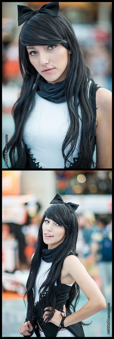 Blake (from RWBY) #anime #cosplay | SDCC 2013