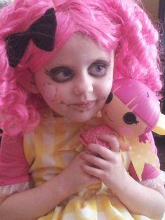 Halloween Lalaloopsy costume