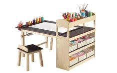 Kids Desk - http://www.rebeccacober.net/8856/kids-desk/ #homeideas #homedesign #homedecor