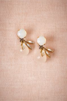 Rose Glimmer Drops in Shoes & Accessories Jewelry > shared by #Carahills www.carahills.com