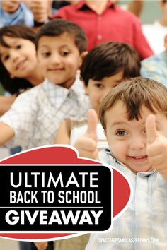 Ultimate Back to School Giveaway UltimateBTS AD