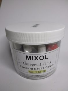 Mixol 12-Piece 20ml Tint Set #Mixol