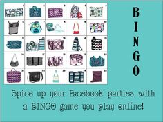 BINGO for your Facebook Parties