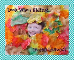 Look Who's Hiding in the Leaves! - Fall Bulletin Board