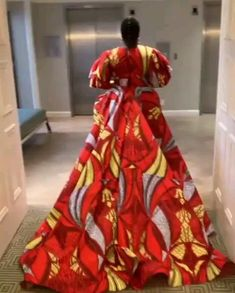 Orange is the New Black star Danielle Brooks slays Ankara Print statement gown by Lavie by CK Danielle Brooks who plays 'Taystee' in Netflix series 'Orange is the New Black' sizzles in a colourful African print ball gown by fashion label Lavie By CK. African Wedding Dress, African Fashion Ankara, African Inspired Fashion, Latest African Fashion Dresses, African Dresses For Women, African Print Dresses, African Print Fashion, Africa Fashion, African Attire