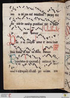 Antiphonarium Cisterciense Salem, um 1200 Cod. Sal. X,6b  Folio 145v