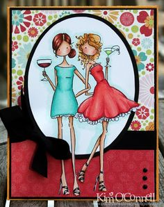 Paper Perfect Designs: Bellarific Friday - Party Girls