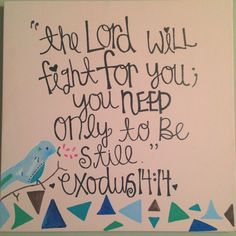 Inspirational canvas painting <3