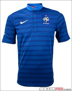 Nike France Home Jersey Soccer Uniforms, Football Jerseys, Team T Shirts, Sports Shirts, Beach Bum Style, France Jersey, Football Equipment, Football Kits, Nike