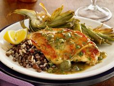 Weight Watchers recipes: this delicious chicken with lemon-caper sauce is just 3 Weight Watchers points.