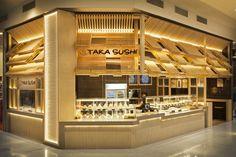 » Taka Sushi by Span Design, Tuggerah – Australia Kiosk Design, Cafe Design, Retail Design, Store Design, Australian Interior Design, Interior Design Awards, Sushi Design, Sushi Laden, Visual Merchandising