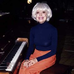 CAROL CHANNING - The famous Broadway performer started her career in the 40s and 50s as a white actress. She didn't reveal to the world that her father was black until 2002, when she was around 80 years old.