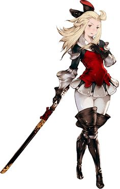 andresonion:    Artwork of Lee Edea, the newest character revealed for Bravely Default. Man, I want this game to come out here so bad.