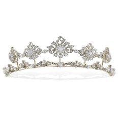 """theladyintweed: """" Diamond tiara, circa 1860 """""""