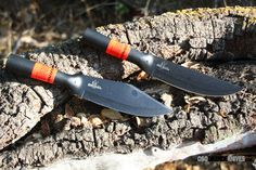 They both come complete with our new heavy duty Cor-Ex Survival sheath which features a utilitarian pocket on the front for storing small items. http://www.osograndeknives.com/catalog/fixed-blade-survival-knives/cold-steel-95buss-bushman-knife-nylon-survival-sheath-376.html