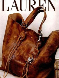 Ralph Lauren Bag-good leather goes so well with plaid Ralph Lauren Taschen, Ralph Lauren Bags, Ralph Lauren Handbags, Sac Michael Kors, Michael Kors Outlet, Beautiful Bags, Purses And Handbags, Mk Handbags, Burberry Handbags
