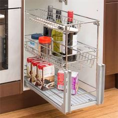 Image result for pull out units for kitchen