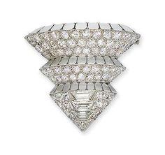 "Art Deco ""Pont"" jewelry, by Suzanne Belperon"