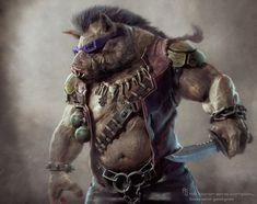 Tartarugas Ninja - Confira um visual mais clássico das Tartarugas e artes conceituais de Krang, Bebop & Rocksteady! - Legião dos Heróis
