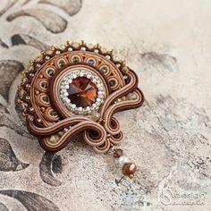 Soutache Necklace, Lace Earrings, Beaded Brooch, Punk Jewelry, Hippie Jewelry, Fashion Jewelry, Skull Jewelry, Tribal Jewelry, Hairpin Lace Crochet