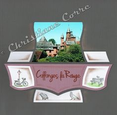 Le scrap de Christiane - Morlaix: Collonges la Rouge avec Mirage