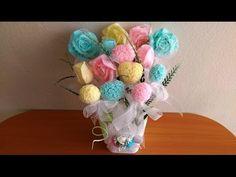 (4) Bouquet Soap Making ( Sabun Buketi Yapımı ) - YouTube