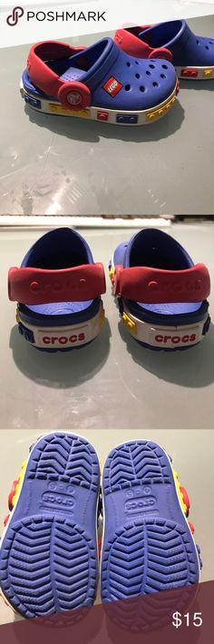 Croc Kids Crocband Lego Clog excellent condition Excellent condition Crocs Lego Clog CROCS Shoes
