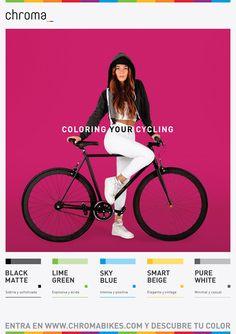 Chroma Bikes Advertising-Laura- by Helsinki Studio