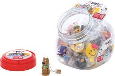 Emtec Candy Jar - Mix of 25 Characters - Candy Jars, Snow Globes, Characters, Home Decor, Decoration Home, Candy Mason Jars, Room Decor, Figurines, Home Interior Design
