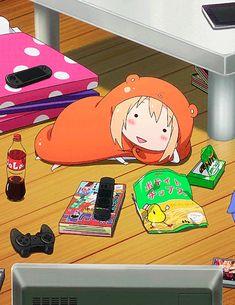 Me every time I play as Leona Yandere Anime, Me Anime, Chica Anime Manga, Anime Chibi, Kawaii Anime, Anime Art, Cartoon Memes, Cartoon Pics, Himouto Umaru Chan