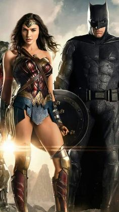 Wonder Woman and Batman - one of my otp's