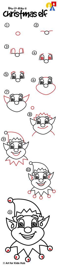 Image result for christmas elf stick figure face