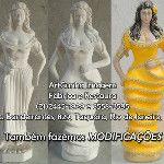 Modificação de cigana 64 cm ArtCunha Decorações (21)2445-1929 #Artesanato #Gesso #Cigana #Cigano #Ciganos #Ciganas #Escultura #Estatua #Esculturas #Estatuas #Restauracao